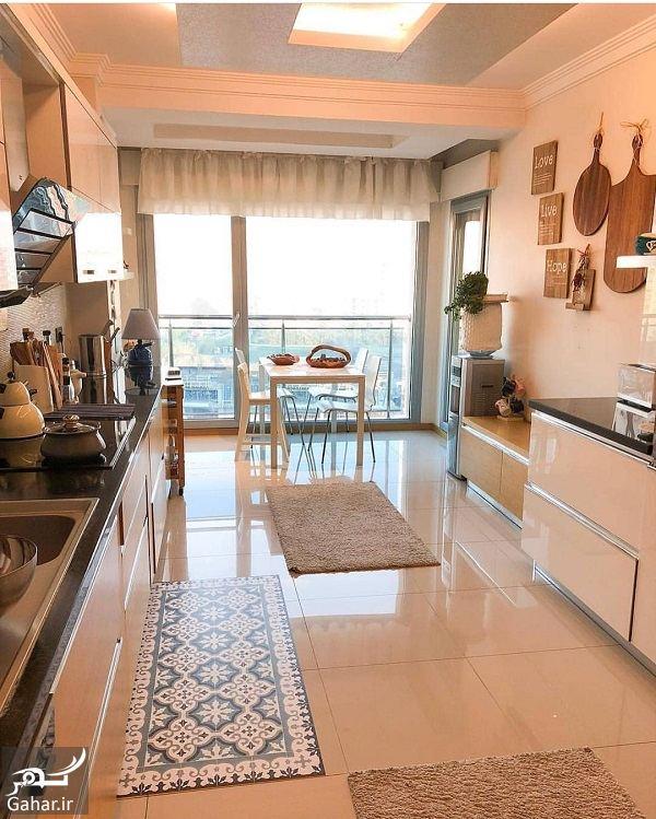 794014 Gahar ir آشپزخانه های شیک با کابینت های مدرن 2018 / 10 عکس