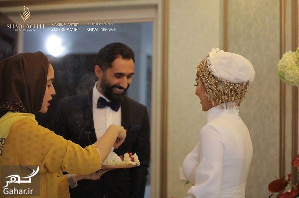 863347 Gahar ir عکسهای جذاب از مراسم ازدواج سمانه پاکدل و هادی کاظمی