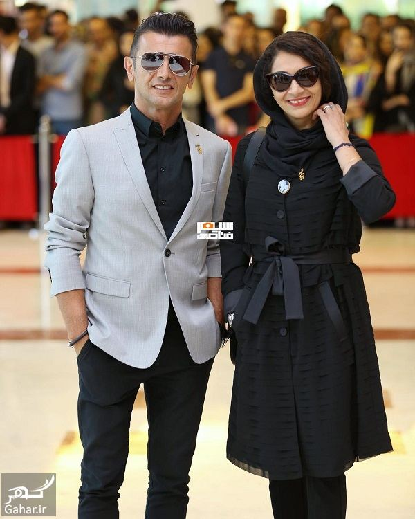 865353 Gahar ir استایل لاکچری امین حیایی و همسرش در جشن حافظ 97 / 3 عکس