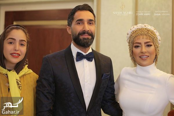 897688 Gahar ir عکسهای جذاب از مراسم ازدواج سمانه پاکدل و هادی کاظمی
