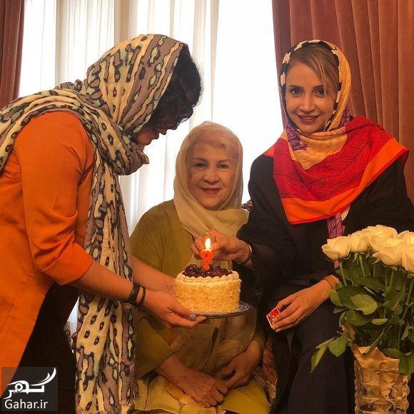 979589 Gahar ir عکس شبنم قلی خانی در تولد مادرش
