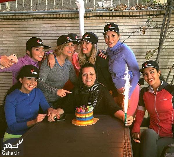 472963 Gahar ir جشن تولد الهام پاوه نژاد کنار دوستان لاکچری اش