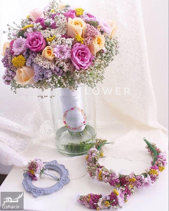 013599 Gahar ir مدل دسته گل عروس فوق العاده شیک و رویایی / 14 مدل