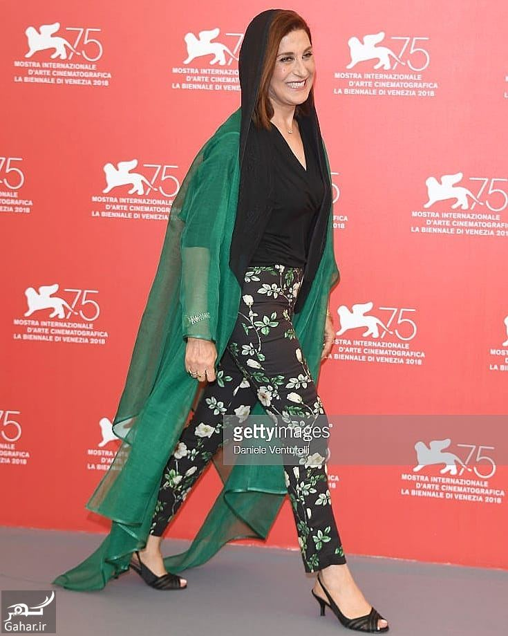 058944 Gahar ir پوشش نامتعارف فاطمه معتمدآریا در جشنواره فیلم ونیز / 5 عکس