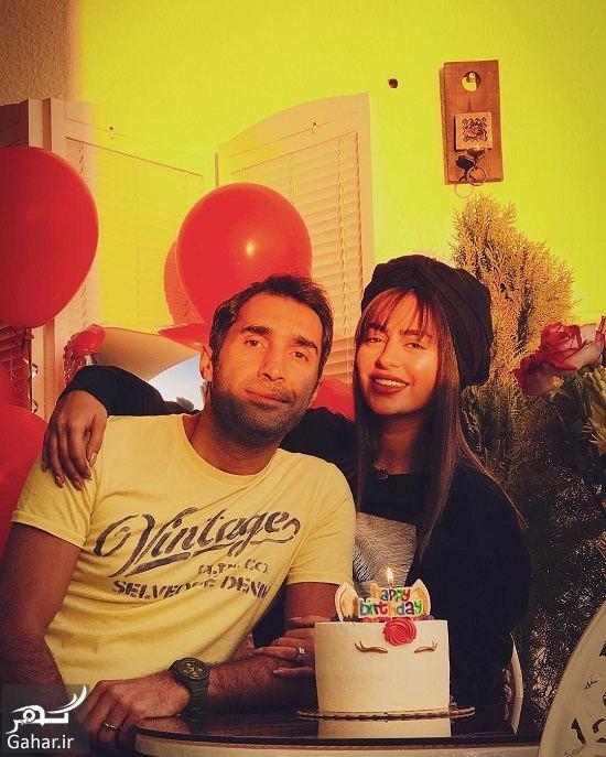 190346 Gahar ir اولین جشن تولد سمانه پاکدل در کنار همسرش هادی کاظمی