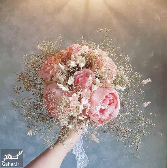 215539 Gahar ir مدل دسته گل عروس فوق العاده شیک و رویایی / 14 مدل
