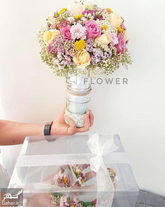 280243 Gahar ir مدل دسته گل عروس فوق العاده شیک و رویایی / 14 مدل