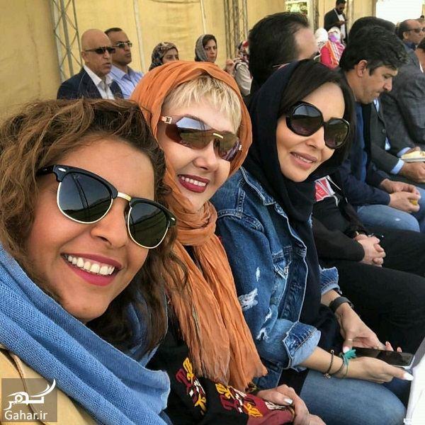 323421 Gahar ir عکسهای بازیگران زن در افتتاحیه پیست موتور سواری بانوان