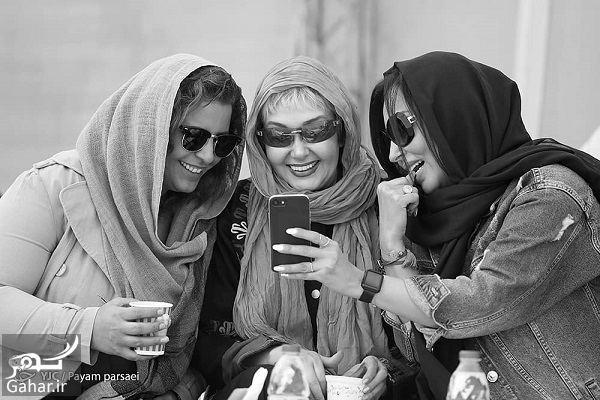 339645 Gahar ir عکسهای بازیگران زن در افتتاحیه پیست موتور سواری بانوان