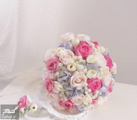 360542 Gahar ir مدل دسته گل عروس فوق العاده شیک و رویایی / 14 مدل
