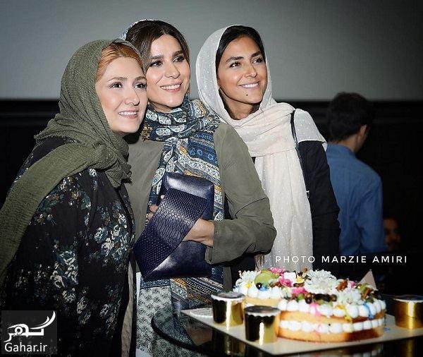 384515 Gahar ir عکسهای تولد سحر دولتشاهی در اکران مردمی عرق سرد