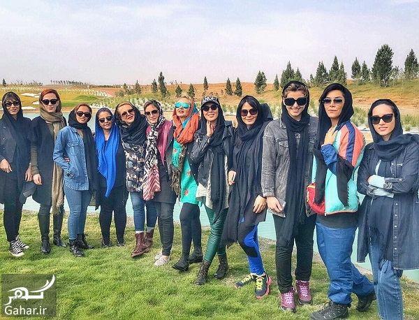 566948 Gahar ir عکسهای بازیگران زن در افتتاحیه پیست موتور سواری بانوان