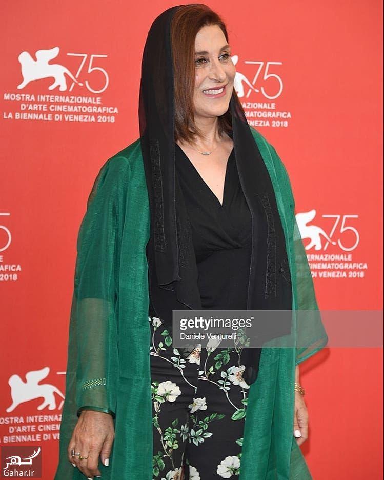 918091 Gahar ir پوشش نامتعارف فاطمه معتمدآریا در جشنواره فیلم ونیز / 5 عکس