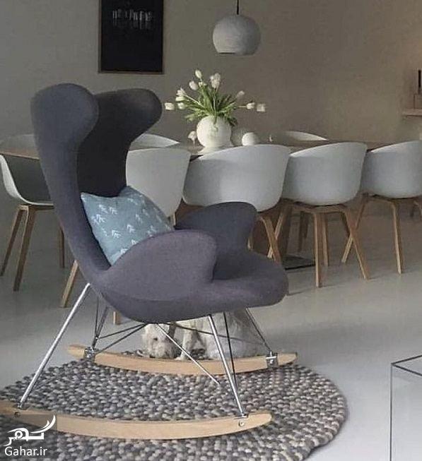 979018 Gahar ir مدلهای جدید صندلی راک (صندلی گهواره ای آرام بخش)