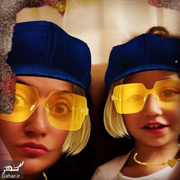 341924 Gahar ir عکس مهناز افشار و دخترش با استایل جالب