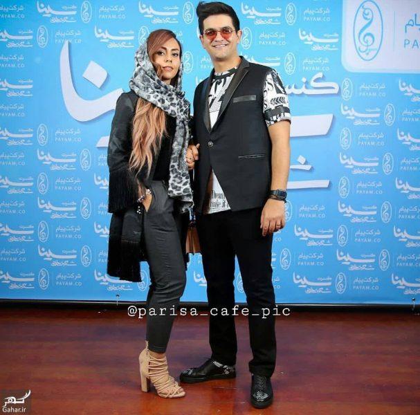 391075 Gahar ir e1543086899192 عکس سینا شعبانخانی و همسرش با استایل خاص