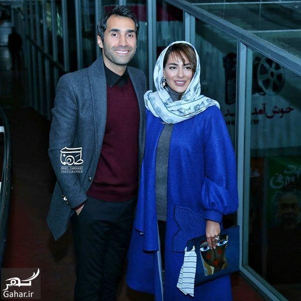 416267 Gahar ir سمانه پاکدل و همسرش در اکران خصوصی قانون مورفی / 5 عکس