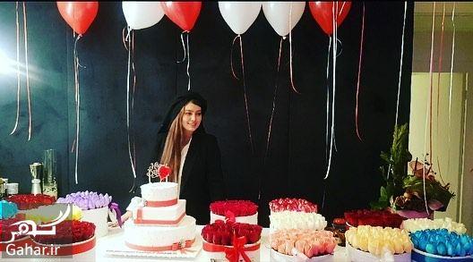 775397 Gahar ir عکس های لاکچری جشن تولد سحر قریشی