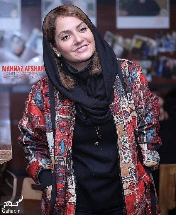 102517 Gahar ir عکسهای مهناز افشار در جشنواره فیلم فجر 97 ( اکران فیلم آشفتگی )