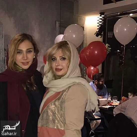 609237 Gahar ir عکس جدید نیوشا ضیغمی و خواهرش در جشن تولد