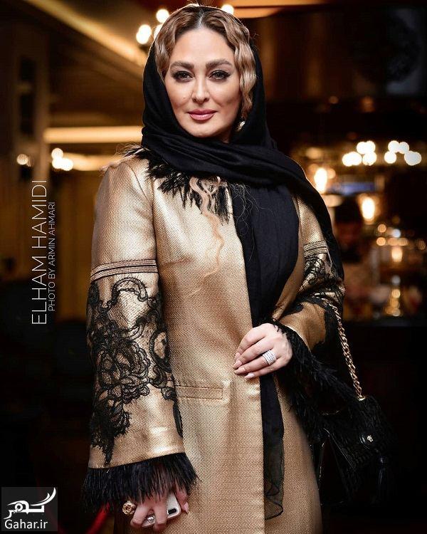 667644 Gahar ir عکس های الهام حمیدی در جشن سریال هشتگ خاله سوسکه