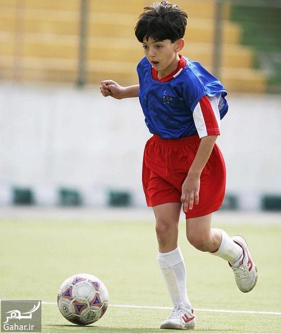 701817 Gahar ir عکس جالب از نوجوانی سردار آزمون