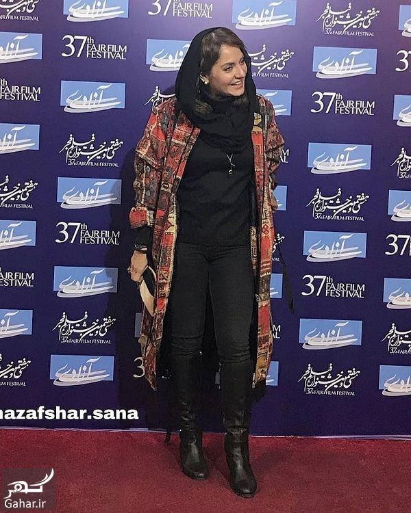 837163 Gahar ir عکسهای مهناز افشار در جشنواره فیلم فجر 97 ( اکران فیلم آشفتگی )