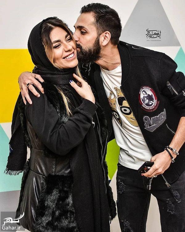 213383 Gahar ir عکسهای نامتعارف محسن افشانی و همسرش در اکران پارادایس