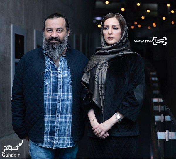 637886 Gahar ir عکسهای بازیگران در اکران فیلم ناگهان درخت در جشنواره فجر 97
