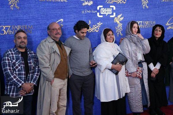 747982 Gahar ir عکسهای بازیگران در اکران فیلم یلدا در جشنواره فجر 97