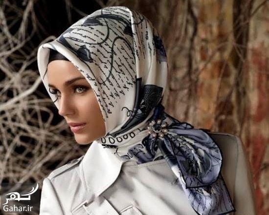 779876 Gahar ir روش بستن روسری ساتن