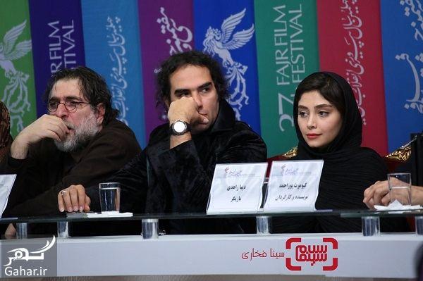 804375 Gahar ir عکسهای بازیگران فیلم تیغ و ترمه در نشست خبری و اکران در جشنواره فجر 97