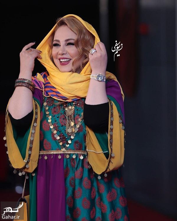 842846 Gahar ir استایل سنتی بهنوش بختیاری در جشنواره فجر 97