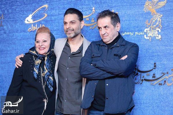 848059 Gahar ir عکسهای بازیگران در اکران فیلم ناگهان درخت در جشنواره فجر 97