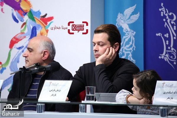 862071 Gahar ir عکسهای بازیگران فیلم تیغ و ترمه در نشست خبری و اکران در جشنواره فجر 97