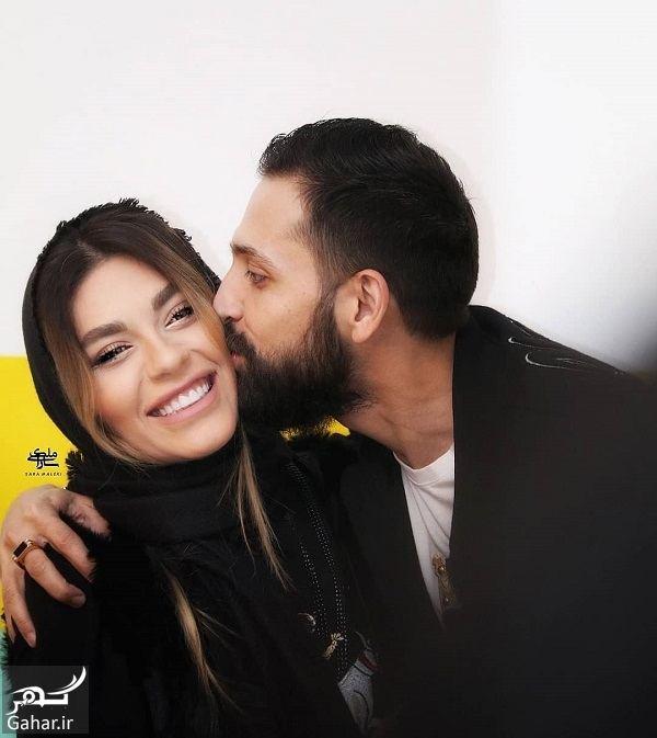 891555 Gahar ir عکسهای نامتعارف محسن افشانی و همسرش در اکران پارادایس