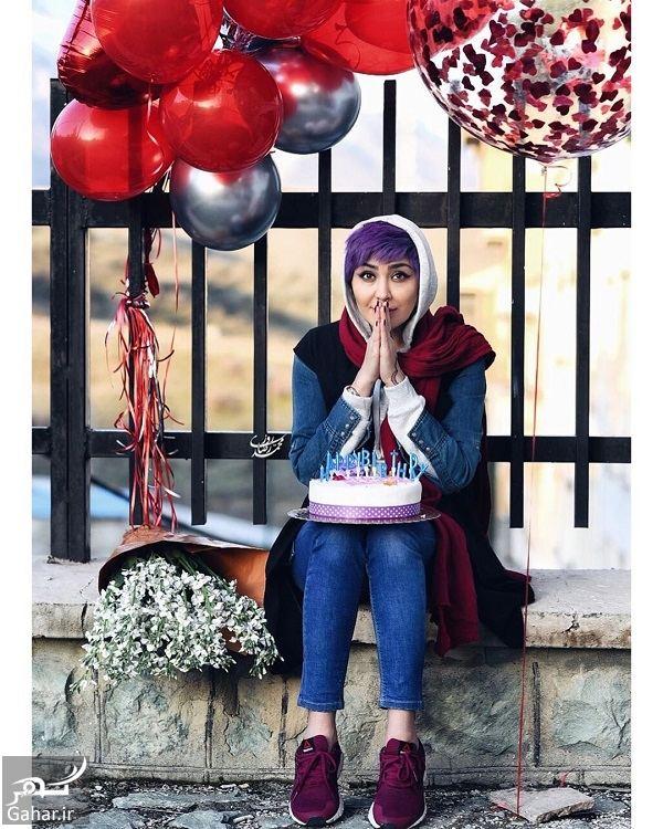 023433 Gahar ir عکسهای متفاوت تولد مریم معصومی
