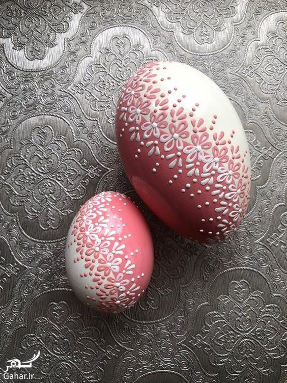 175251 Gahar ir تزیین تخم مرغ هفت سین ، مدل رنگ کردن تخم مرغ عید / 12 عکس
