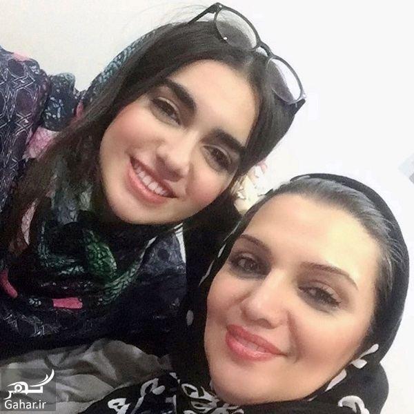 254724 Gahar ir عکسهای الهام پاوه نژاد و دخترش در روز تولدش