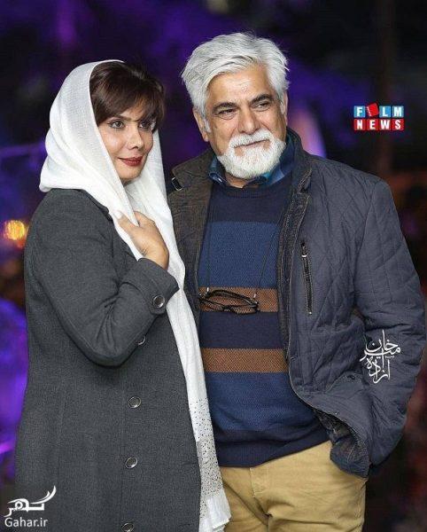 383634 Gahar ir e1552373826702 عکسهای بازیگران در افتتاحیه رستوران سیامک انصاری