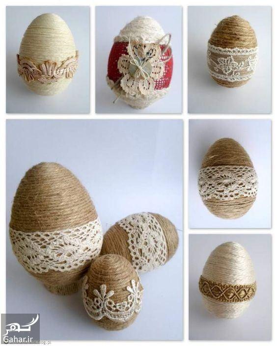 406091 Gahar ir تزیین تخم مرغ هفت سین ، مدل رنگ کردن تخم مرغ عید / 12 عکس