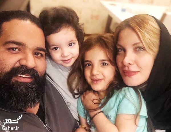 522129 Gahar ir عکسهای سالگرد ازدواج رضا صادقی در کنار همسر و دخترانش