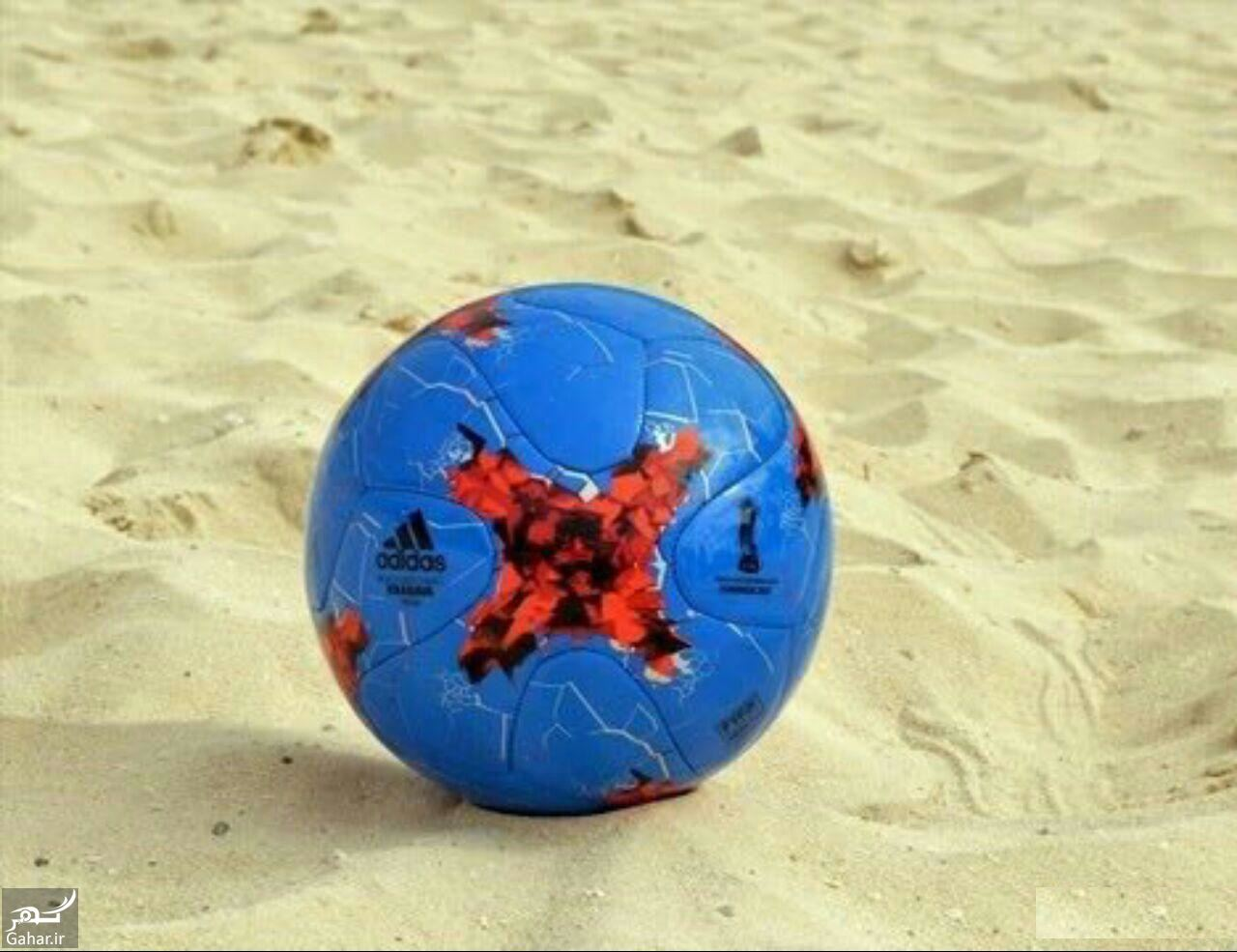 610298 Gahar ir مشخصات توپ فوتبال ساحلی