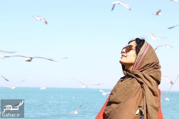 753092 Gahar ir عکسهای دیدنی الناز شاکردوست کنار خلیج فارس