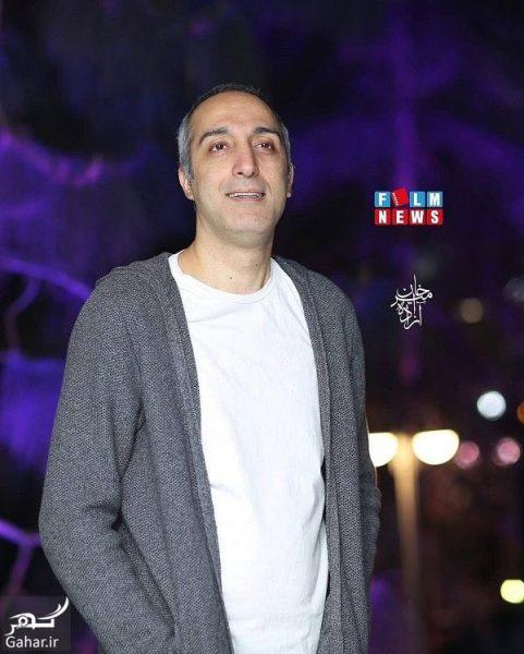 849539 Gahar ir e1552373856577 عکسهای بازیگران در افتتاحیه رستوران سیامک انصاری