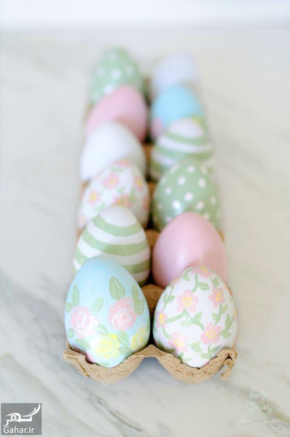 880586 Gahar ir تزیین تخم مرغ هفت سین ، مدل رنگ کردن تخم مرغ عید / 12 عکس