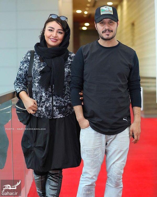 029535 Gahar ir عکسهای مهلقا باقری و جواد عزتی در جشنواره جهانی فیلم فجر 98