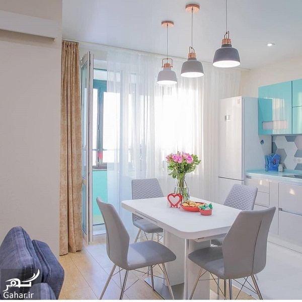 114985 Gahar ir مدل جدید آشپزخانه 2019 با کابینت شیک و طراحی لاکچری (10 مدل)
