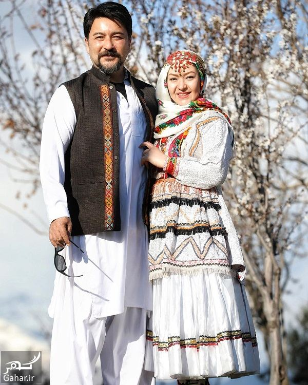 200434 Gahar ir عکسهای دیدنی امیرحسین صدیق و همسرش با لباس محلی
