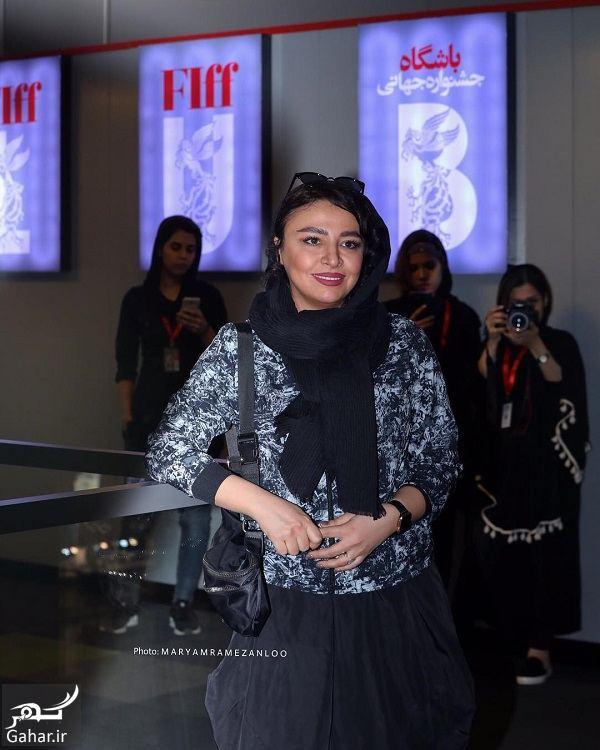 343357 Gahar ir عکسهای مهلقا باقری و جواد عزتی در جشنواره جهانی فیلم فجر 98